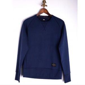 Brand New Levi's XL Navy Crewneck Sweatshirt